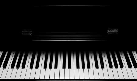 Close up Schuss von Klaviertastatur Standard-Bild - 14397985