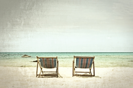 breeze: Two beach chairs