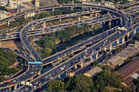 Traffic on express way Stock Photo - 17125475