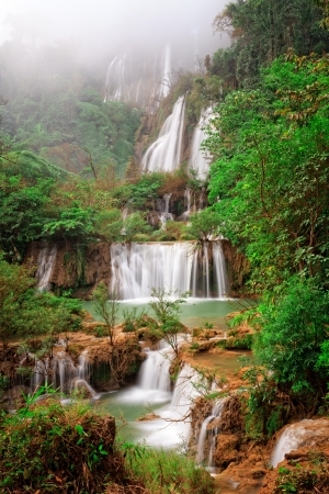 biggest: Biggest waterfall of Thailand, Thi Lo su Stock Photo