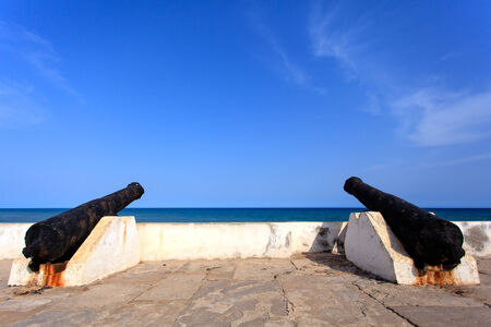 historic place: Cape Cost Castle, one of most important  historic place of Ghana