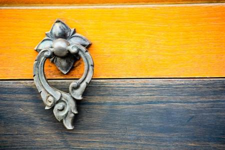 Door knob in design