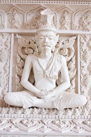 Ascetic statue photo