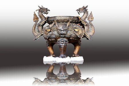 Chinese incense burner Banque d'images