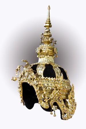 Thai ancient crown Stock Photo