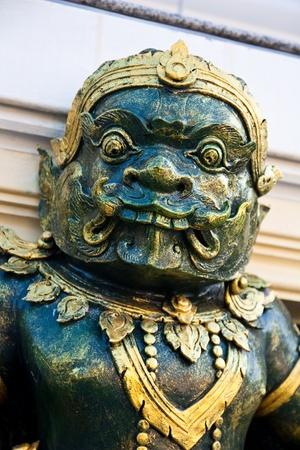 venerate: Giant statue Stock Photo