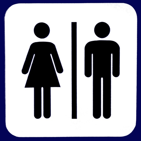 Toilet sign Stock Photo - 8455971