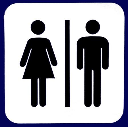 Toilet sign Stock Photo - 8455971