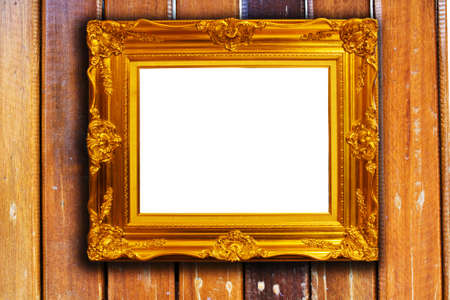 Frame on wood Stock Photo - 8461909