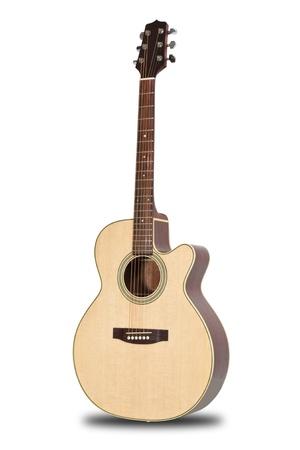guitarra acustica: Guitarra Foto de archivo