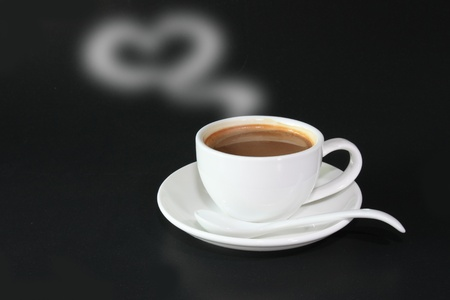 A cup of coffee to you with love Stock Photo - 8686268