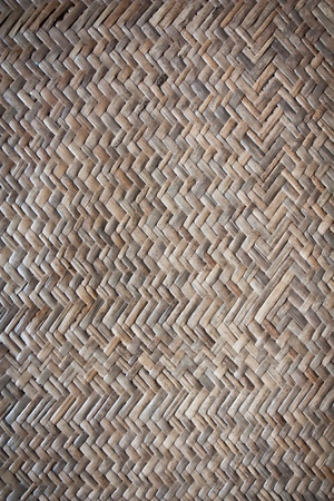 Bamboo weave texture photo