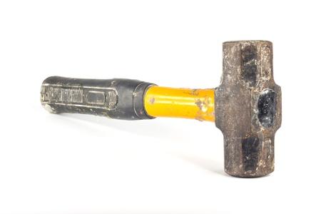 sledgehammer: Sledgehammer isolated on white background
