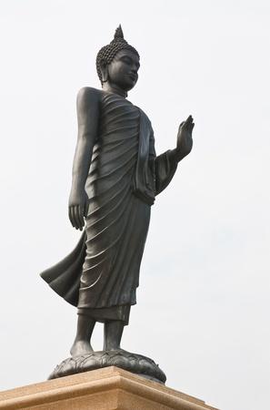 venerable: Image of Buddha in Thailand Stock Photo