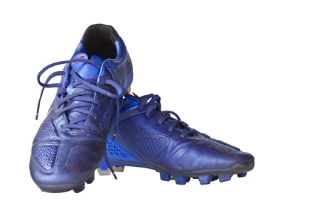 Football shoes isolated on white background  photo