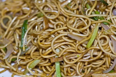 Fried noodle delicious food Stock Photo - 15076261
