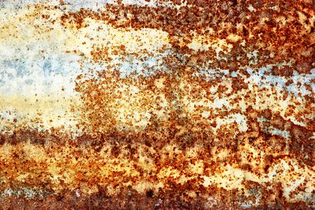 corrugated iron: Rusty zinc background