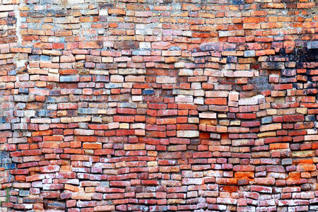 Old brick wall background. Great for grunge design. photo