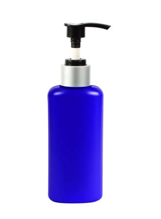 tincture: Plastic Bottle pump Of Gel, Liquid Soap, Lotion, Cream, Shampoo on white background