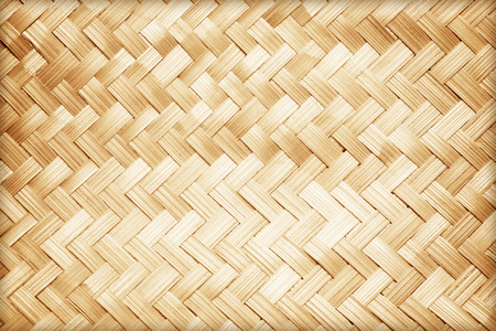 close up woven bamboo pattern Reklamní fotografie