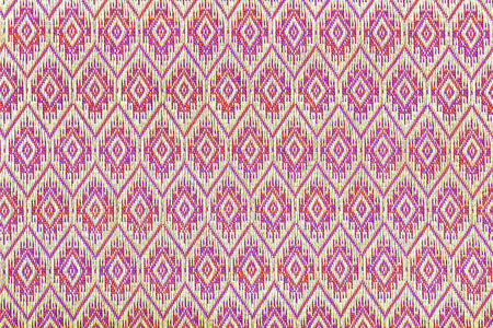 vintage style of tapestry fabric pattern background photo