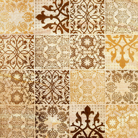 stone: Decorative brown sand stone tile background