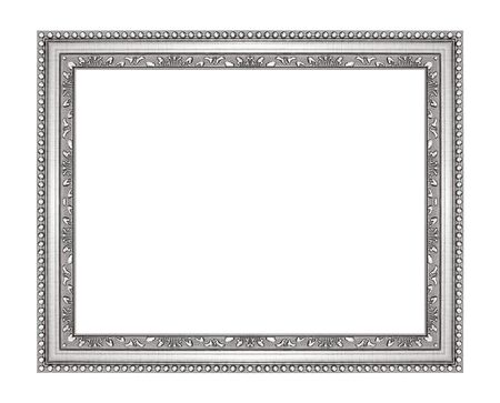 antique picture frame isolated on white background Reklamní fotografie