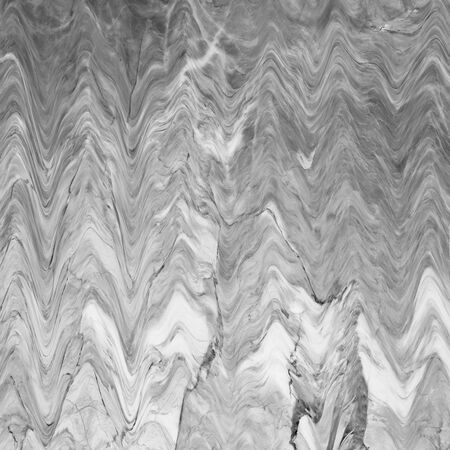 onyx: Abstract marble texture. Black and white background. Handmade technique. Stock Photo