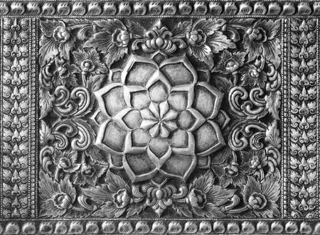 ironworks: Engraved metal oriental texture,pattern background