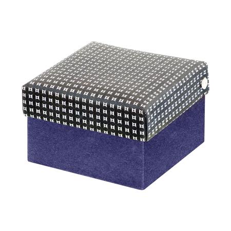 gift silk box isolated on white background