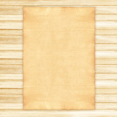 old paper background: old paper on wood background