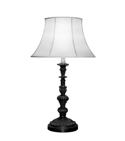 Tischlampe isoliert auf weißem Hintergrund  Standard-Bild - 46002857