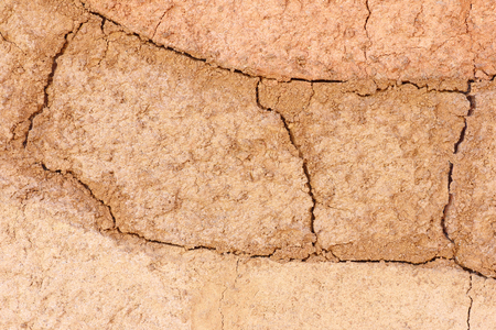 barrenness: Soil texture of natural background