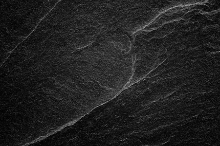 Dark grey black slate background or abstract natural stone texture.