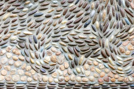 pebblestone: walls decorated with stone