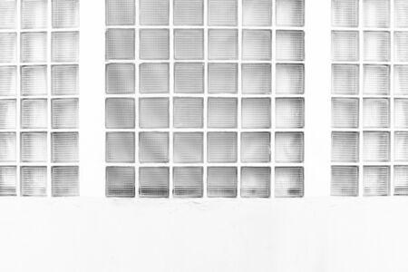 glass block: Glass block wall background Stock Photo
