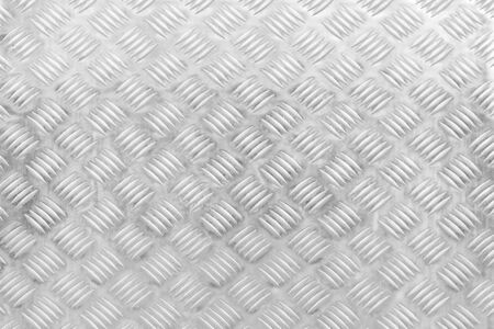 Aluminum plate texture with diamond pattern for background