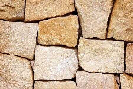 brown slate stone wall texture nature background, modern sandstone wall Reklamní fotografie