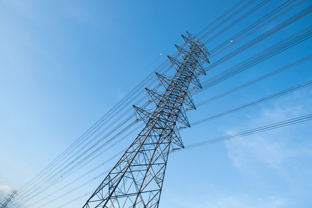 electricity supply: Electricity supply pylons