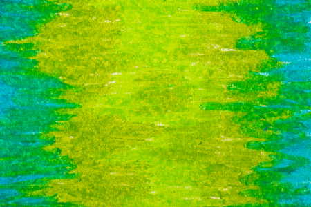 Green paint background.