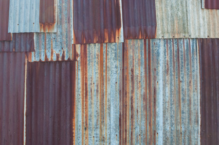 rusted galvanized iron plate texture for background
