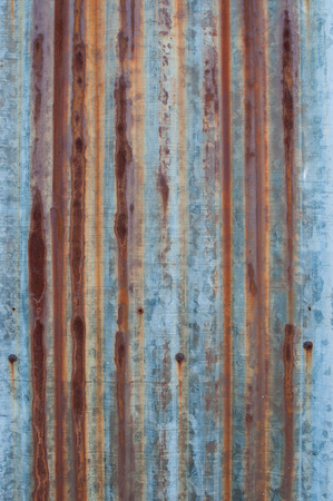 rusted galvanized iron plate texture for background photo