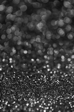black silver glitter christmas abstract background