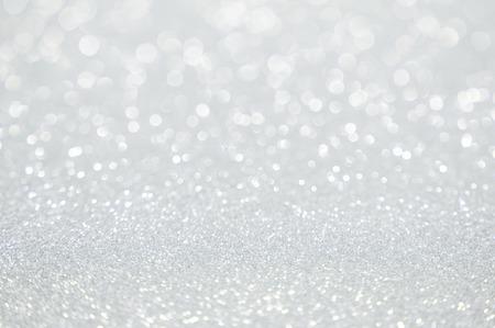 흰색 반짝이 크리스마스 추상적 인 배경