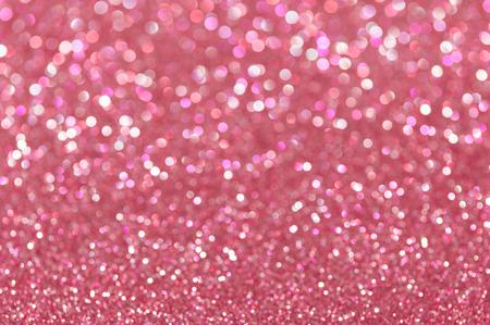 핑크색 반짝이 크리스마스 추상적 인 배경