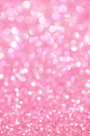 pink glitter valentine's day background