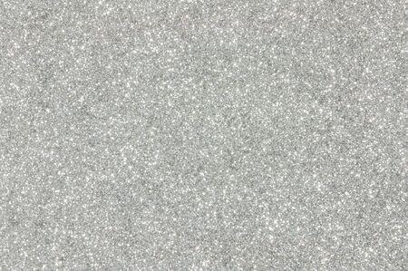 silver glitter christmas abstract background Archivio Fotografico
