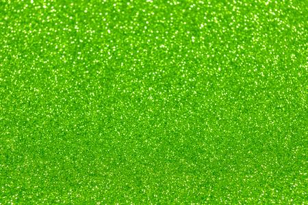 緑のキラキラ クリスマス抽象的な背景