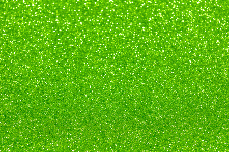 green yellow: green glitter christmas abstract background Stock Photo