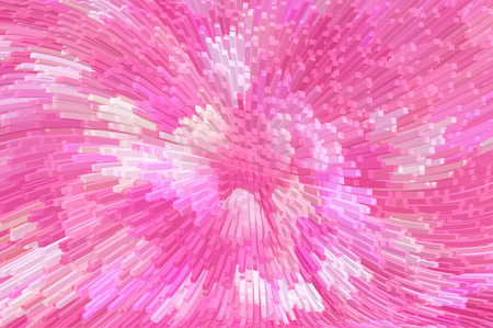 extrusion: pink digital abstract 3d extrude background